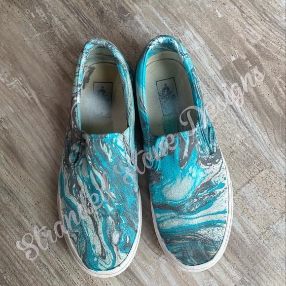 Personalized Vans Canvas Shoes